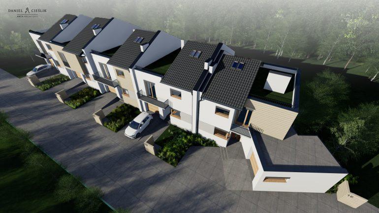 05Prestiżowe osiedle nowych szeregówek, Częstochowa, stan deweloperski, Parkitka, aleja Brzozowa. atriumduo (4)