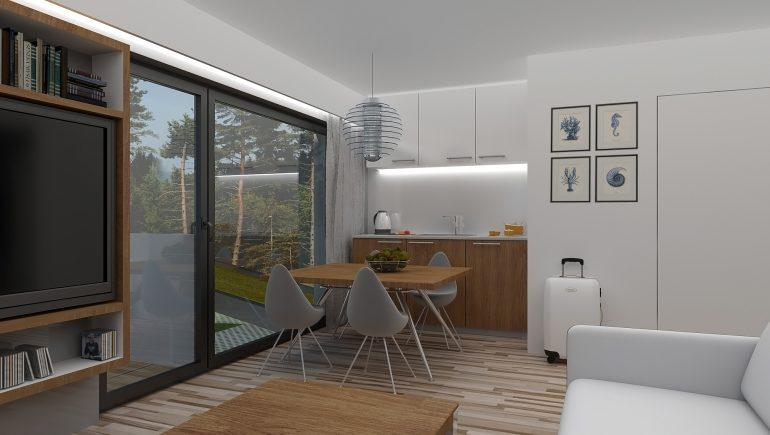 wizualizacja Apartamentu A