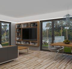 wizualizacja Apartamentu B